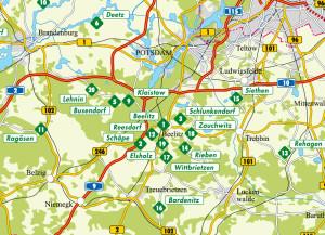 Spagelkarte Brandenburg